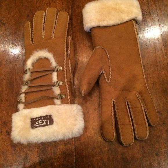 Mus draga Izumro ugg gloves women - smart-kit.org